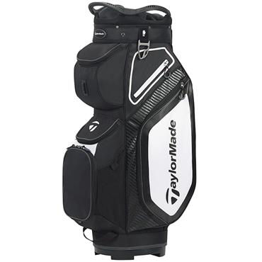 TaylorMade TM20 Cart 8.0 Bag  Black White Charcoal