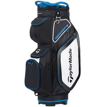 TaylorMade TM20 Cart 8.0 Bag  Black White Blue