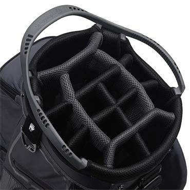 TaylorMade Cart 8.0 Bag  Charcoal Black