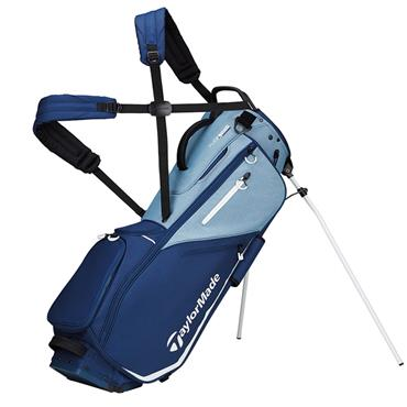 TaylorMade TM20 Flextech Stand Bag  Blue Saphire Navy