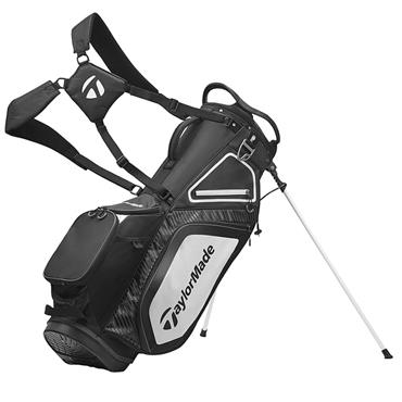 TaylorMade TM20 Stand 8.0 Bag  Black White Charcoal