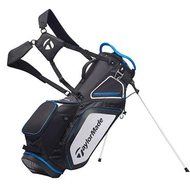 TaylorMade TM20 Stand 8.0 Bag  Black White Blue