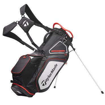 TaylorMade TM20 Stand 8.0 Bag  Black White Red