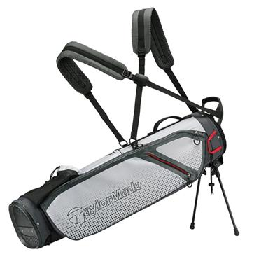 TaylorMade TM20 Quiver Stand Bag  Grey Lite White