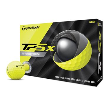 TaylorMade TM20 TP5x Golf Balls  Yellow