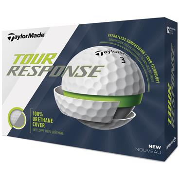 TaylorMade TM20 Tour Response Golf Balls  White