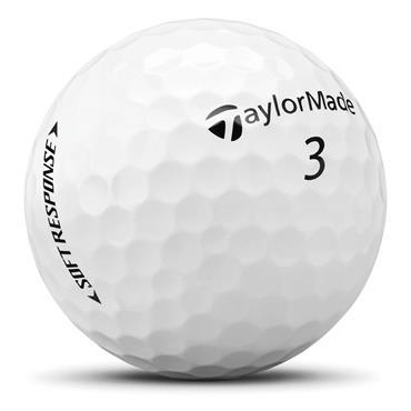 TaylorMade Soft Response Golf Balls  White