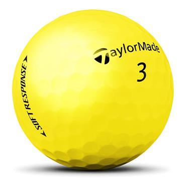 TaylorMade Soft Response Golf Balls  Yellow