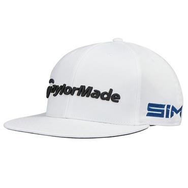 TaylorMade TM20 Tour Flat Bill Cap  White