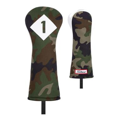 Titleist Leather/Cotton Driver Headcover  Camouflage