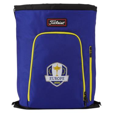 Titleist Ryder Cup Players Sackpack 0S White Blue Gold