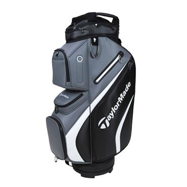 TaylorMade Deluxe Cart Bag  Black-Grey