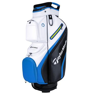 TaylorMade Deluxe Cart Bag  Black/White/Blue