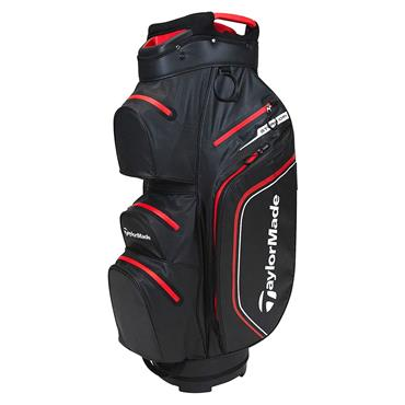 TaylorMade StormDry W/P Cart Bag  Black/Red