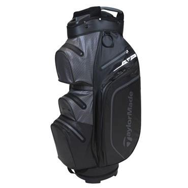 TaylorMade StormDry W/P Cart Bag  Black/Charcoal