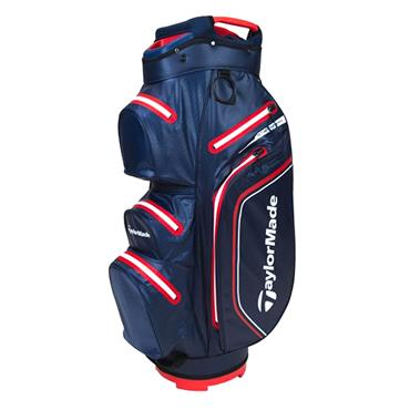 TaylorMade StormDry W/P Cart Bag  Navy Red