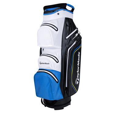 TaylorMade StormDry W/P Cart Bag  Black/White/Blue
