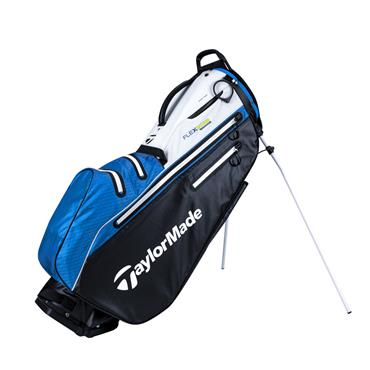 TaylorMade Flextech W/P Stand Bag  Black/White/Blue