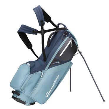 TaylorMade Flextech Stand Bag  Titanium/Blue Steel