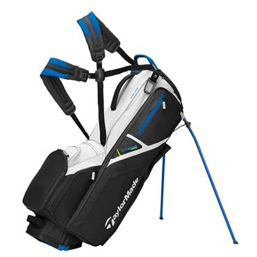 TaylorMade Flextech Crossover Stand Bag  White Black