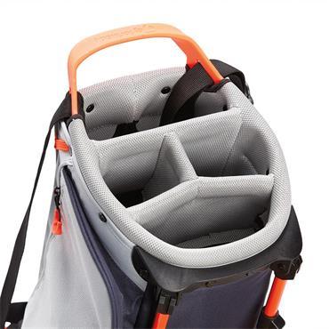 TaylorMade Flextech Lite Stand Bag  Grey Cool/Titanium