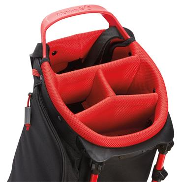 TaylorMade Flextech Lite Stand Bag  Grey/Red