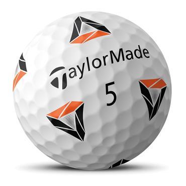 TaylorMade 2021 TP5 pix 2.0 Golf Balls Dozen White