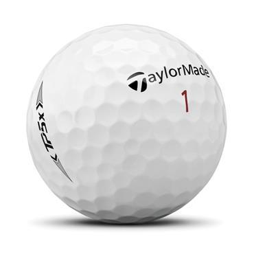 TaylorMade TP5x Golf Balls Dozen White
