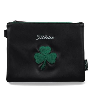 Titleist Shamrock Zippered Pouch  Green
