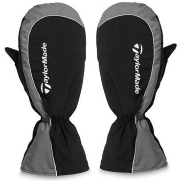 TaylorMade Cart Mittens  Black