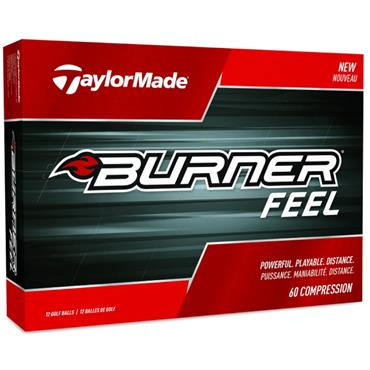 TaylorMade Burner Feel Golf Balls Dozen  White