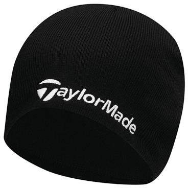 TaylorMade Gents Beanie  Black