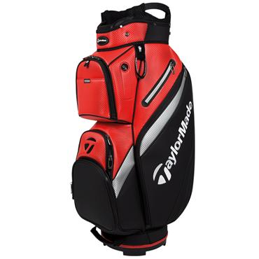 TaylorMade TM18 Deluxe Cart Bag  Orange/Black