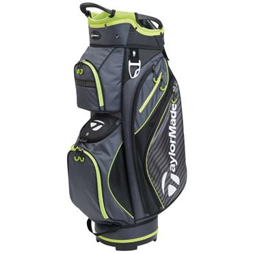 TaylorMade Pro Cart 6.0 Bag Charcoal - Black - Green