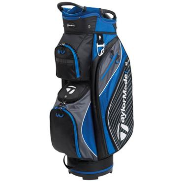 TaylorMade Pro Cart 6.0 Bag Black - Charcoal - Blue