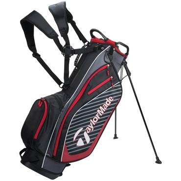 TaylorMade Pro Stand 6.0 Bag  Black/Charcoal/Red