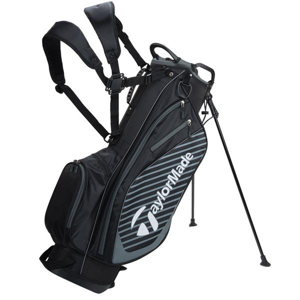 Taylormade Tm18 Pro Stand 6 0 Bag Black Charcoal Golf Store