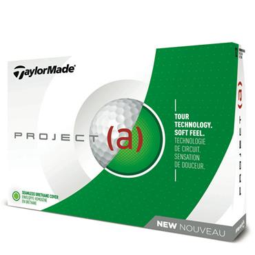 TaylorMade TM18 Project A Golf Balls Dozen  White