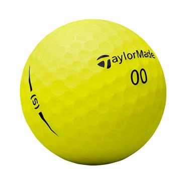 TaylorMade Project S Golf Balls Dozen  Yellow