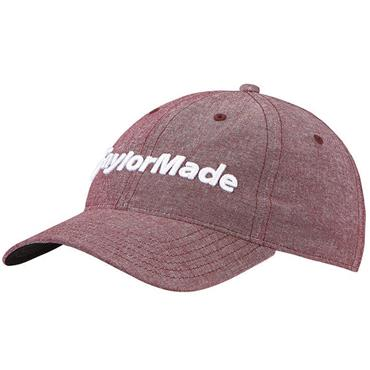 TaylorMade TM18 Tradition Lite Heather Cap  Heather Cardinal