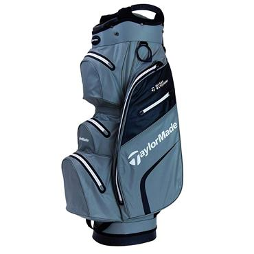 TaylorMade Deluxe Waterproof Cart Bag Grey - Black