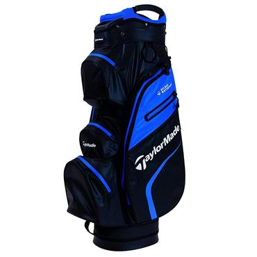 TaylorMade Deluxe Waterproof Cart Bag Black - Blue