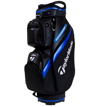 TaylorMade TM19 Deluxe Cart Bag Black/Blue