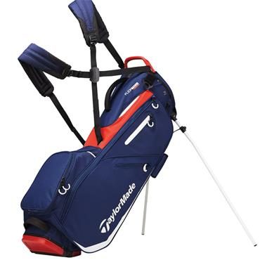 TaylorMade TM19 Flextech Stand Bag  Navy Red White