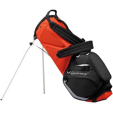 TaylorMade TM19 Flextech Stand Bag  Black - Orange