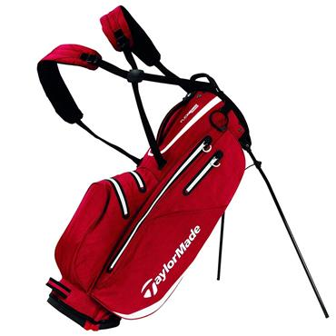 TaylorMade TM19 Flextech W/P Stand Bag  Red/White