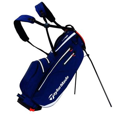 TaylorMade TM19 Flextech W/P Stand Bag  Navy/White/Red