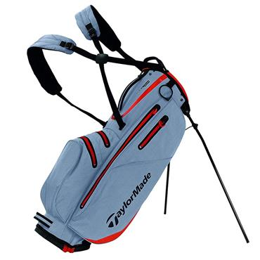 TaylorMade TM19 Flextech W/P Stand Bag  Silver/Red