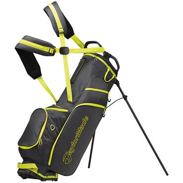 TaylorMade TM19 Litetech 3.0 Stand Bag  Grey/Lime