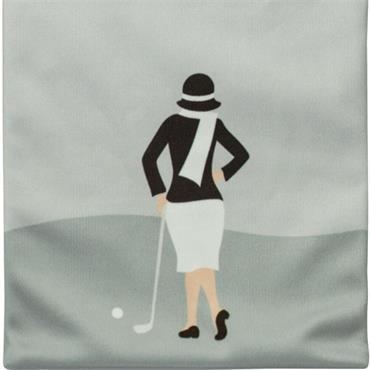 Surprizeshop Ladies Tee & Accessory Bag  Silver